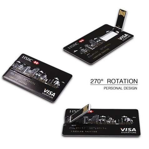 USB флешка - в виде кредитной карты 16GB
