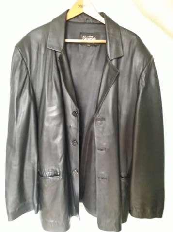 Новый кожаный пиджак!