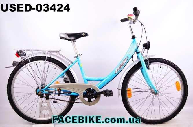 БУ Подростковый велосипед Antilope-Гарантия,Документы