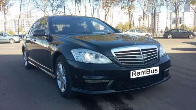 Прокат Мерседес S- klass w221 и w222 с водителем.