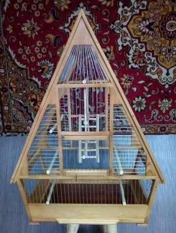 Клетка для птиц «трансформер» (разборная).