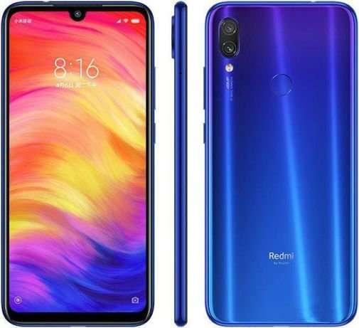 Xiaomi Redmi Note 7 4/64 GB Black Blue Global version