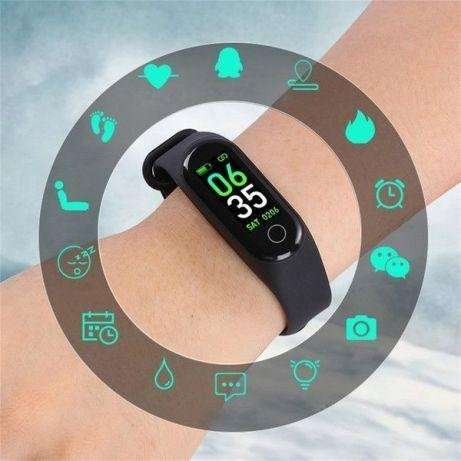 Xiaomi Mi Band 3 Фитнес браслет смарт часы Спортивный трекер м3 - изображение 3