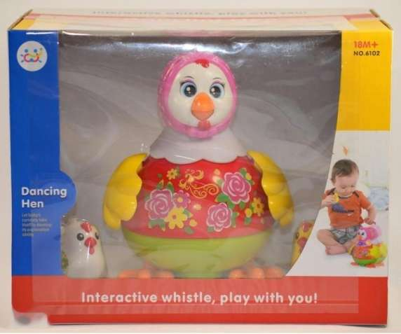 Интерактивная игрушка Курочка 6102