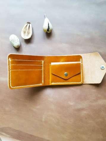 Стильний шкіряний гаманець, кошелек, портмоне