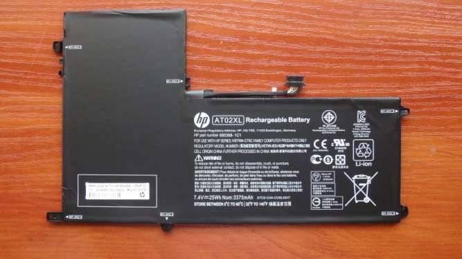 Оригинальная аккумуляторная батарея HP ElitePad 900 G1 AT02XL 25Wh