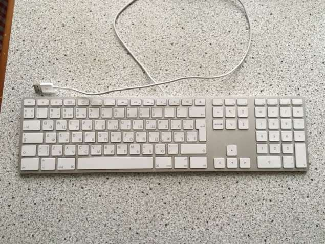Клавиатура Apple Keyboard Aluminium