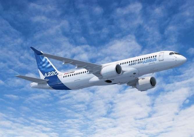 Новый Airbus A220-300