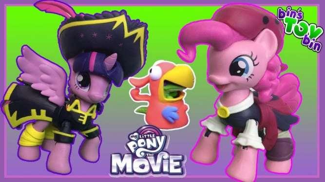 My Little Pony the Movie Guardians of Harmony Pinkie Pie Pirate Pony