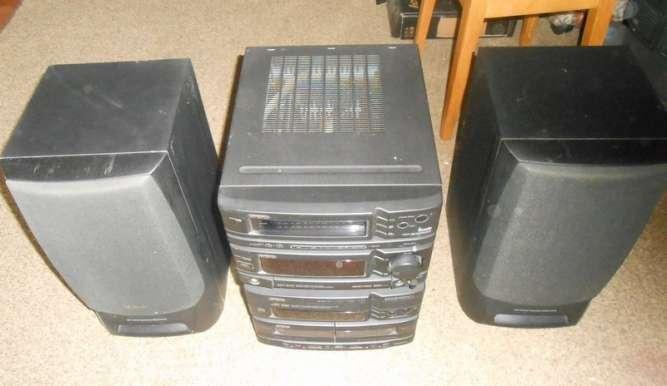 Музыкальный центр Hi-Fi AIWA NSX-D737
