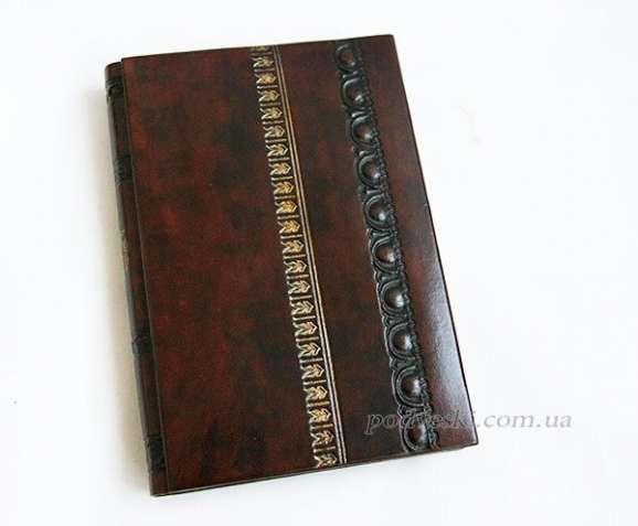 Кожаные ежедневники, блокноты, фотоальбомы ручной работы от украинског