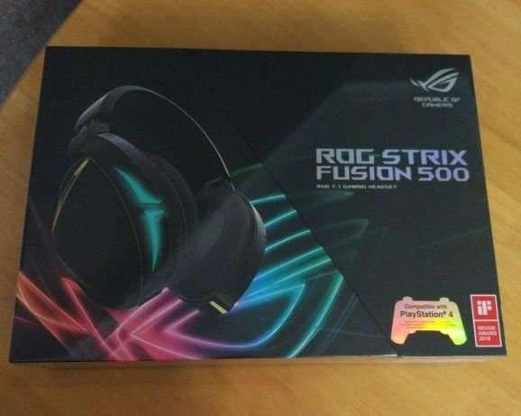 Игровая гарнитура Asus ROG Strix Fusion 500 7.1 (90YH00Z2-B8UA00)
