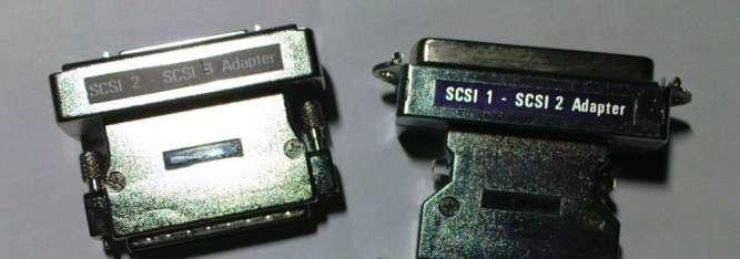 Продам переходники SCSI 1-2-3