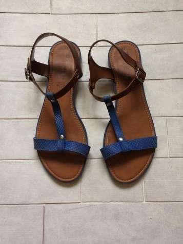 Кожаные босоножки tamaris, сандалии, босоніжки, сандалі