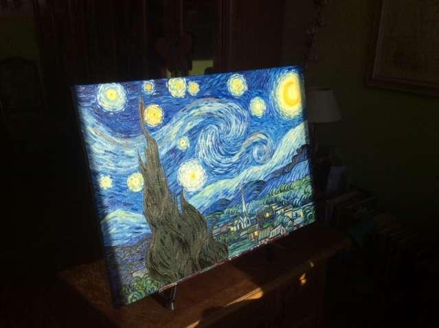 Свободная копия Ван Гога «звездная ночь»