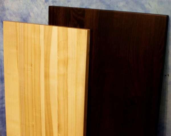 Столешница из массива дерева ясень прямоугольная