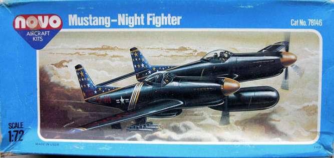 Сборная модель самолета Twin Mustang F-82