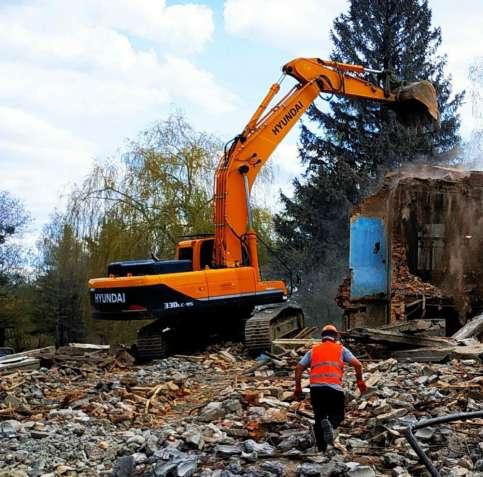 Проводимо демонтаж споруд будь-якого призначення, земельні роботи