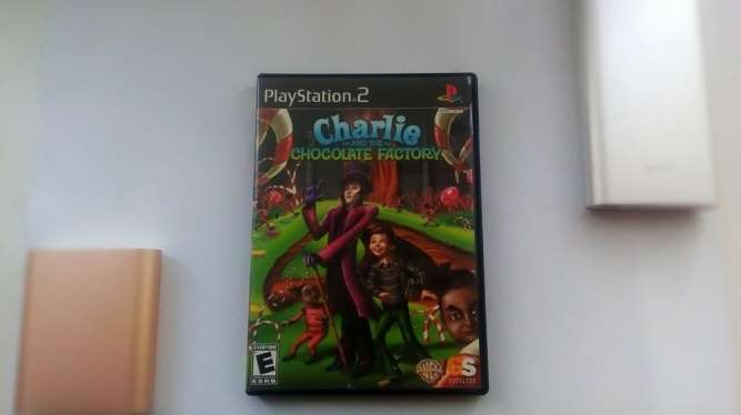 Диск на Sony Play Station 2 PS2 Charlie Chocolate Factory