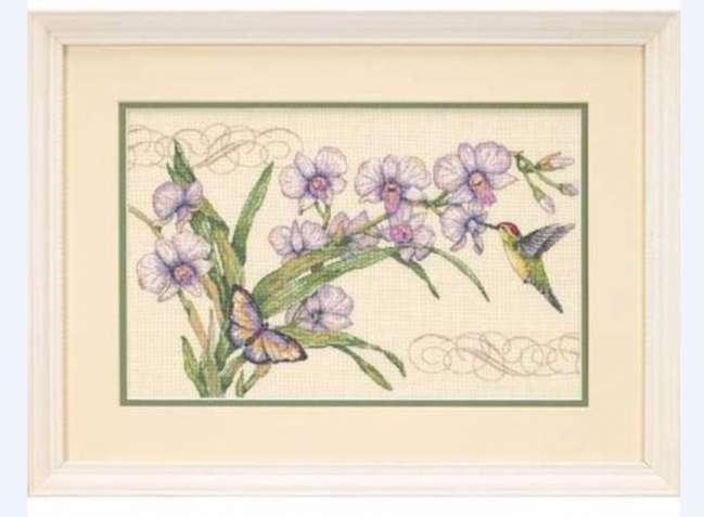 Куплю набор для вышивки DIMENSIONS 35237 Орхидеи и колибри