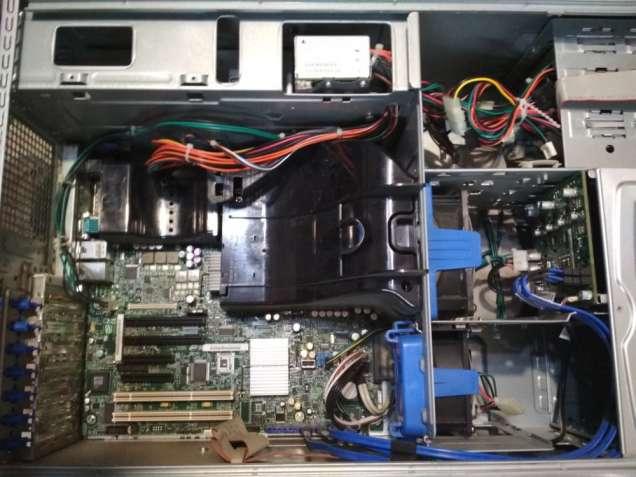 Сервер Intel Xeon E5420