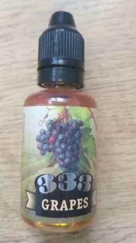 Жидкость для электронных сигарет 333 Grapes 30 мл