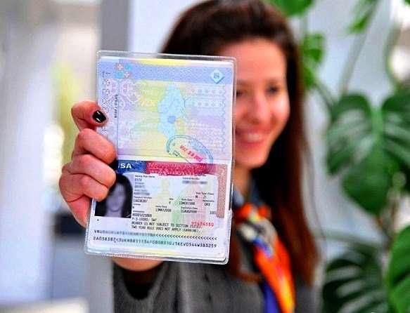 Открытие туристической визы в США, американской визы, консультация