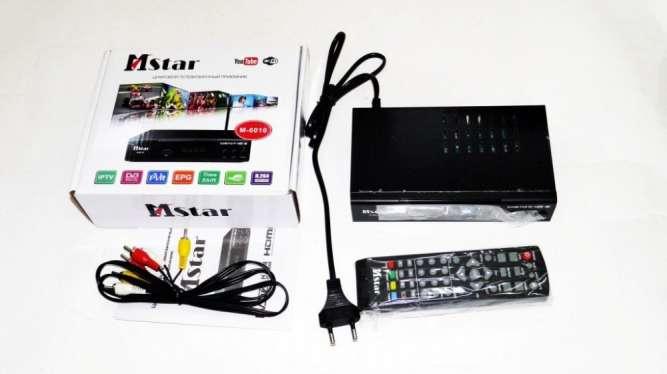 Mstar M-6010 Внешний тюнер DVB-T2 USB+HDMI с возможностью подключить W