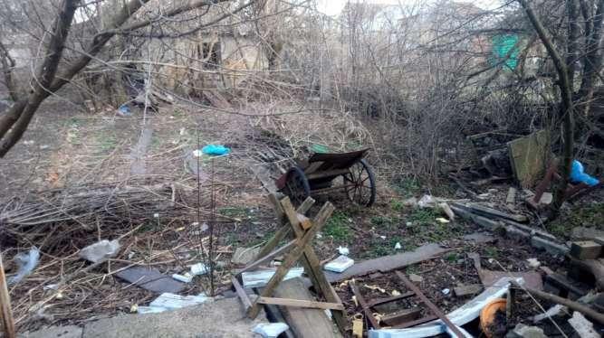 Уборка территории и огородов .Корчевание пней в Донецке
