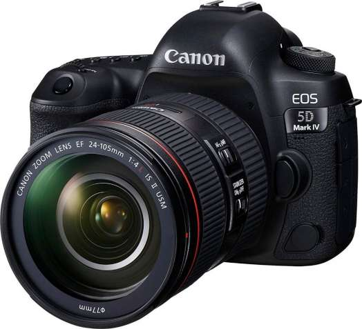 Canon EOS 5D Mark IV 30.4MP, цифровий дзеркальний фотоапарат - чорний