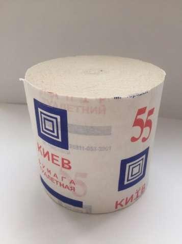 """Туалетная бумага """"Київ"""" 55 метров/1 рулон"""