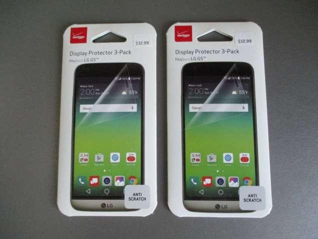 Фирменная защитная пленка для LG G5