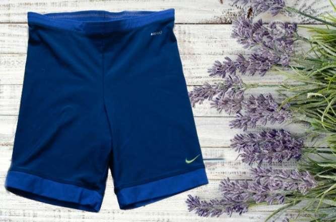 Nike  Спортивные женские шорты велосипедки синие +комби  Dri Fit L