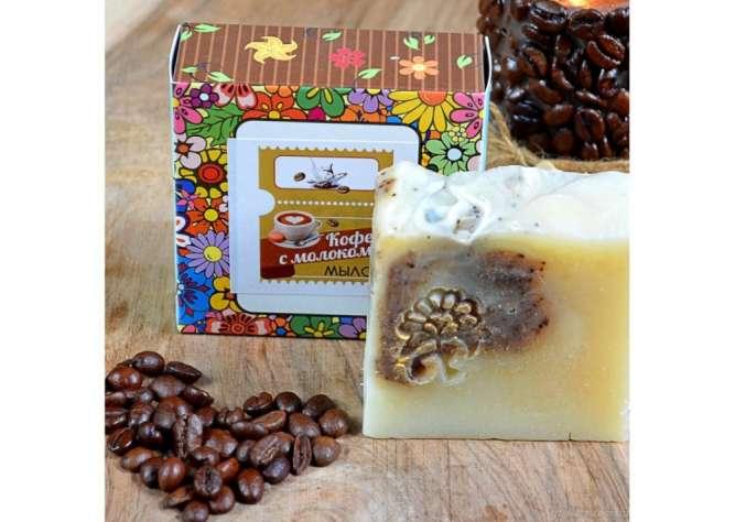 Мыло-скраб «Кофе с молоком» 100 г GZ