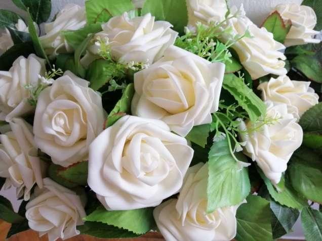Цветы украшения на автомобиль стол президиум свадьбу весільні квіти