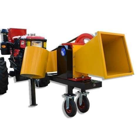 Веткоруб садовый измельчитель дров веток и обрези 2В-60М Подрiбнювач г