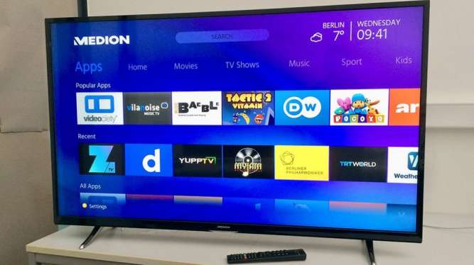 Телевизор Medion Life X18061 50 дюймов, Full HD, Smart TV, WiFi Гарант