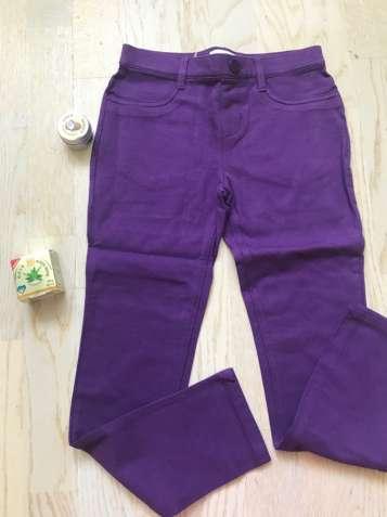 Леггенсы фиолетовые Чилдренплейс 6-7 и 12 лет