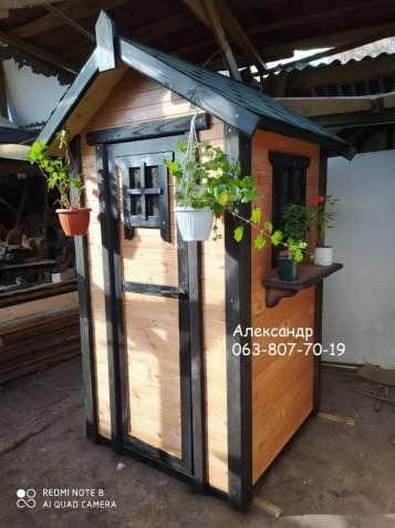 Деревянный туалет ( дачный ) №1