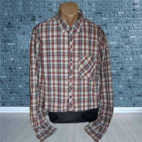 Хлопковая мужская рубашка с длинным рукавом S. Oliver XXL