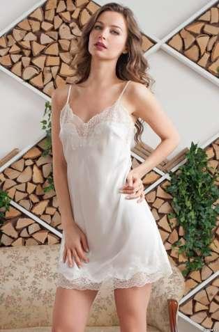 Шелковая ночная сорочка Изабелла XS, 3180