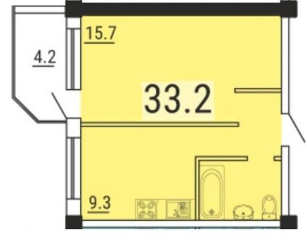 Квартира в новом комплексе комфорт-класса на Черёмушках