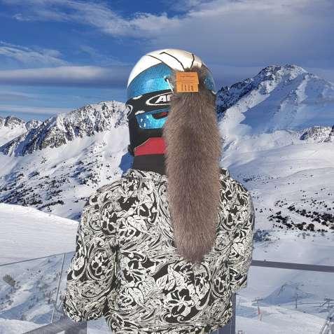Шлем Лисий хвост серый Icy Greige