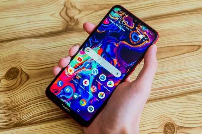 Смартфон Huawei Y7 Prime 2018 на 2 сим-карточки орыгинальная