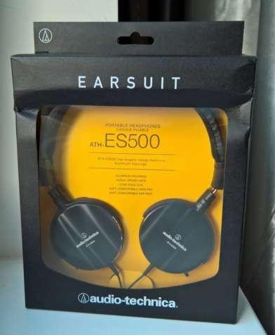 Наушники Audio Technica ATH ES 500 ( ATH-ES500 )