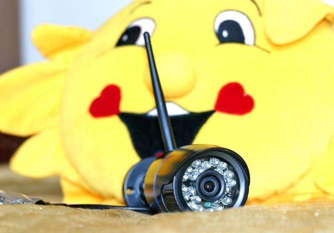 Lan, Wi-Fi цифровая видеокамера для видеонаблюдения, + ночное видение