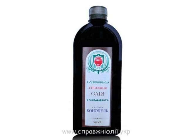 Конопляное масло оптом и в розницу от производителя