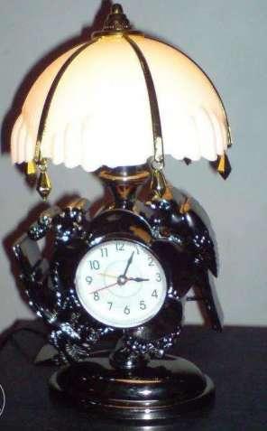 Светильник - часы