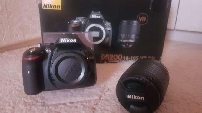 Фотоаппарат NIKON  D5200 18-105VR