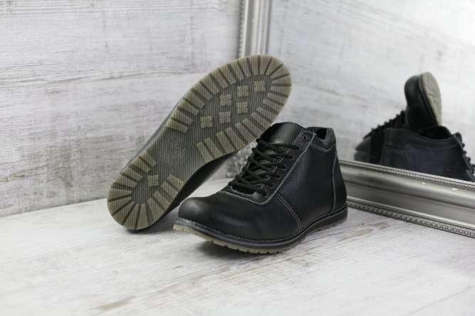 Акция!Зимние кожаные ботинки с -50% скидки 5a7dac74e0c03